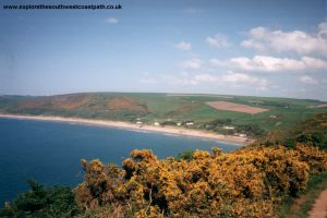 Woolacombe Bay from Baggy Point